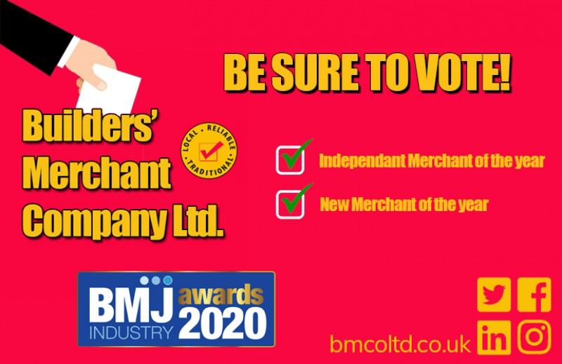 BMC NOMINATED FOR 2 BMJ INDUSTRY AWARDS!