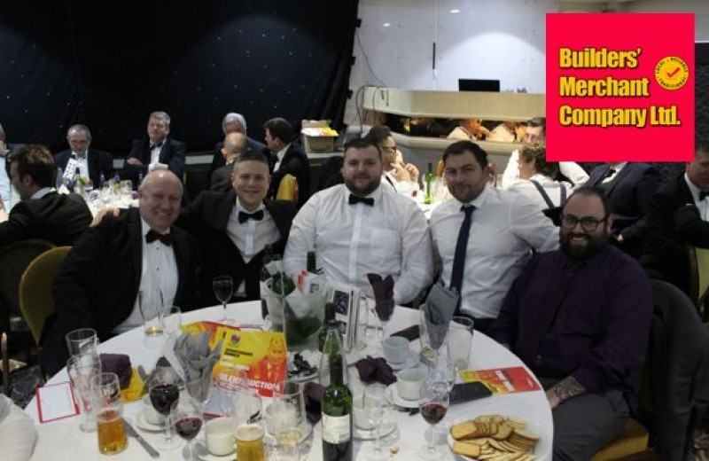 BMC ATTEND HULL RUFC SPORTSMAN DINNER
