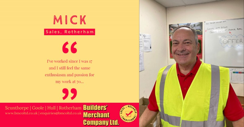 Mick says hello from Rotherham!