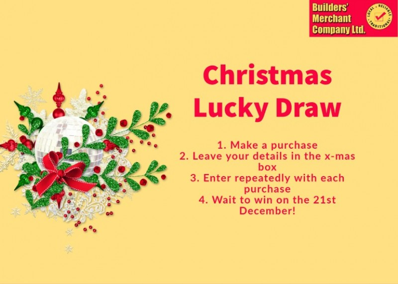 Christmas Lucky DIp at BMCo
