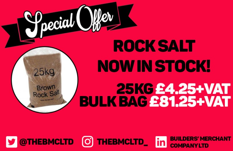 ROCK SALT NOW IN STOCK!
