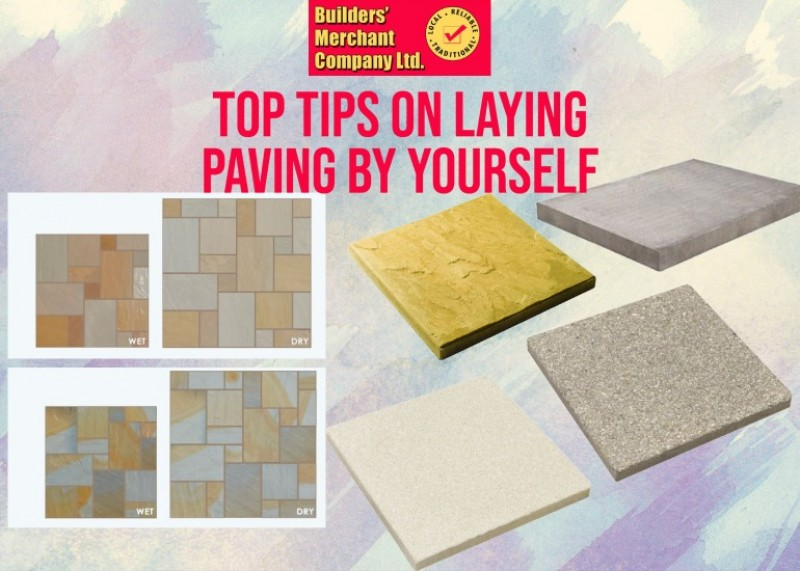 Top 5 Tips on Laying Paving Slabs