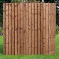 Kingston Vertilap Fence Panel 6 x 3