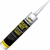 Everbuild Weather Mate Sealant White 295ml WEAWE