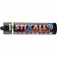 Everbuild Stixall Building Adhesive and Sealant Crystal Clear 290 ml STIXCLEAR