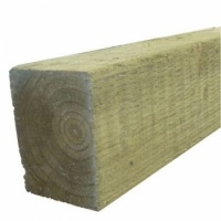 Incised Treated Green Timber Sleeper 125mm x 250mm x 2400mm