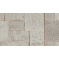 Marshalls Indian Sandstone Grey Project Pack 18.3m2 18mm Calibrated