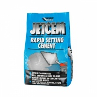 Everbuild JetCem Rapid Setting Cement 3Kg JETCEM3