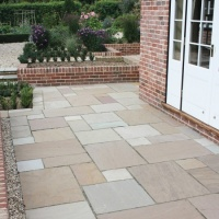 Global Gardenstone Sunset Buff Project Pack 19.2m2 18mm Calibrated Sandstone