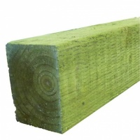 Timber Fence Post 75 x 75 x 2400mm Green Treated