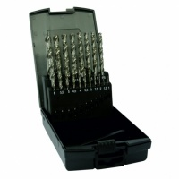 Dart 19 Piece HSS Ground Twist Drill Set
