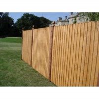Super Feather Edge Fence Panel 6 x 6