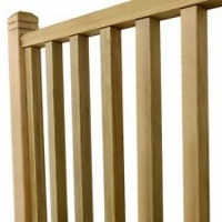 Square Decking Spindles 41 x 41 x 900mm