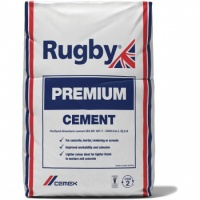 Rugby Premium Cement 25kg Paper Bag