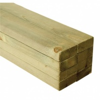 Sawn Carcassing 47mm X 125mm Treated C16 KD J Joist FSC