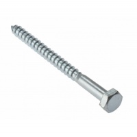 Coach Screws Zinc Plated M6
