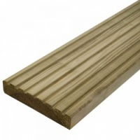 32 x 125mm Treated Decking 4.2m PEFC
