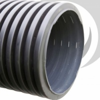 Perforated Twinwall Pipe 6m with Coupler