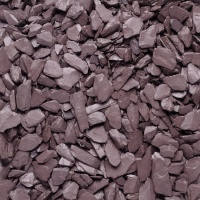Plum Slate Bulk Bag 20mm/40mm