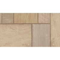 Marshalls Indian Sandstone Brown Project Pack 18.3m2 18mm Calibrated