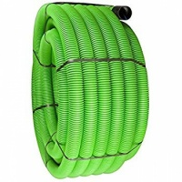 Green GP Duct C/W Coupler & Drawline 50m