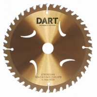 Dart Gold ATB Wood Saw Blade 165Dmm
