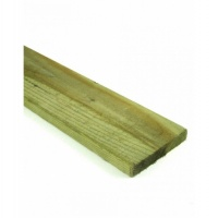 Green Treated Timber Fence Board 22mm x 150mm x 1.8m